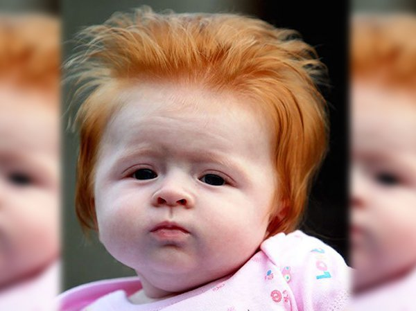 funny hairy babies 32 57060cbc865bb  6051 Babies with adult heads of hair are the stuff of legend (30 Photos)