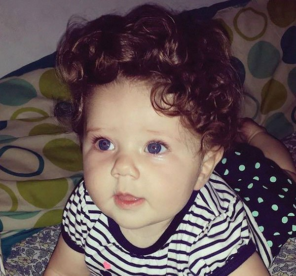 funny hairy babies 5 57051fd614f9f  605 Babies with adult heads of hair are the stuff of legend (30 Photos)