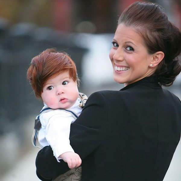 funny hairy babies 59 57065045bc735  605 Babies with adult heads of hair are the stuff of legend (30 Photos)