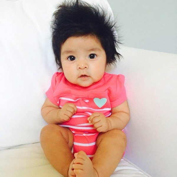 funny hairy babies 69 570664972cd3e  605 Babies with adult heads of hair are the stuff of legend (30 Photos)