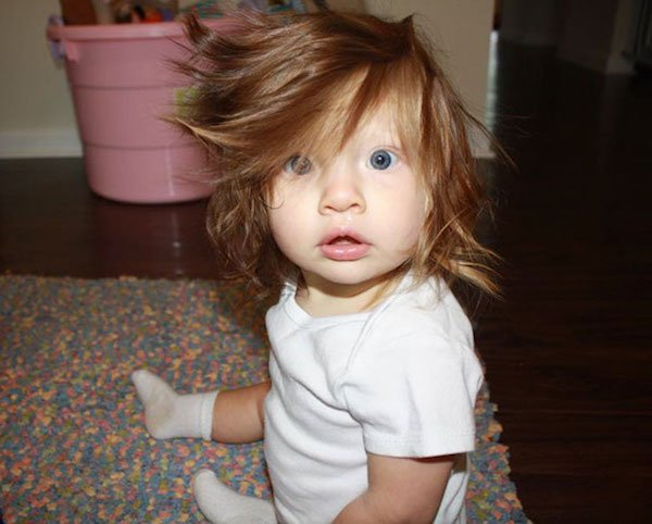 funny hairy babies 42 57061049bc7da  605 Babies with adult heads of hair are the stuff of legend (30 Photos)
