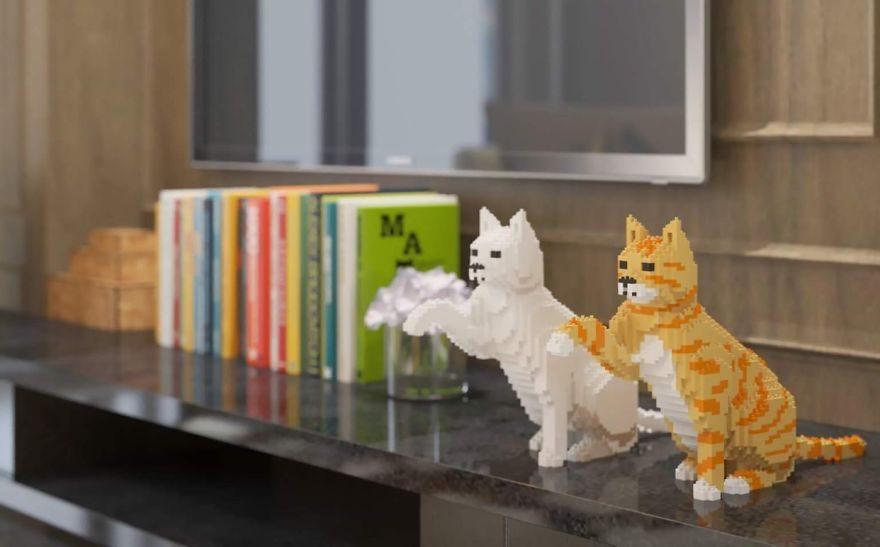 26款沒有呼嚕聲但還是會完全治癒你的「療癒樂高貓」!