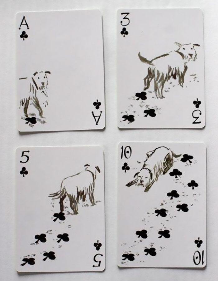 12張超可愛「狗狗撲克牌」會讓你看到入迷忘了出牌!法鬥版本可愛到沒邊❤