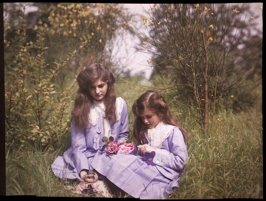 100年前拍攝!27張歷史上第一批超稀有彩色歷史照。#12 查理·卓別林