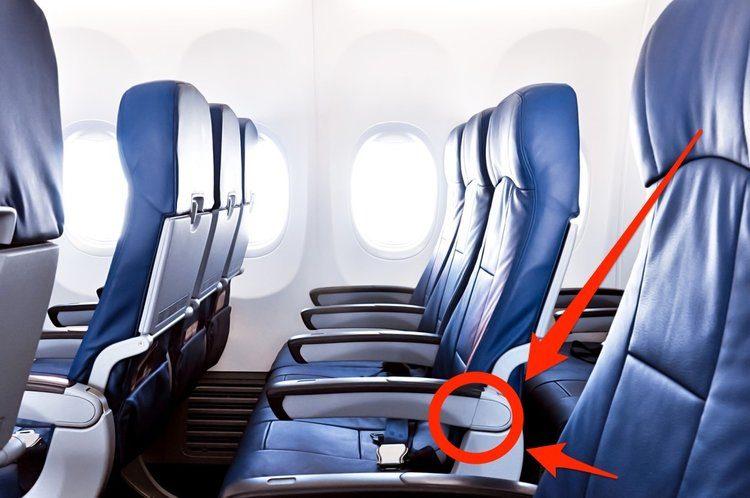 搭長途飛機很辛苦?這個沒有人發現的「秘密按鈕」可以讓你的空間更多!