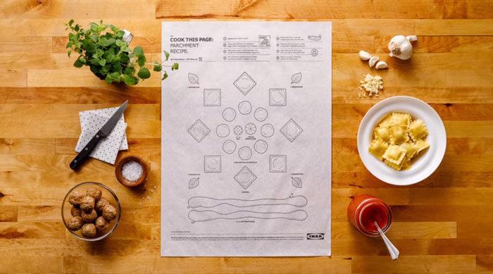 IKEA「超天才創意料理組裝說明書」!「會看圖就OK」零廚藝新手秒升級餐廳主廚!