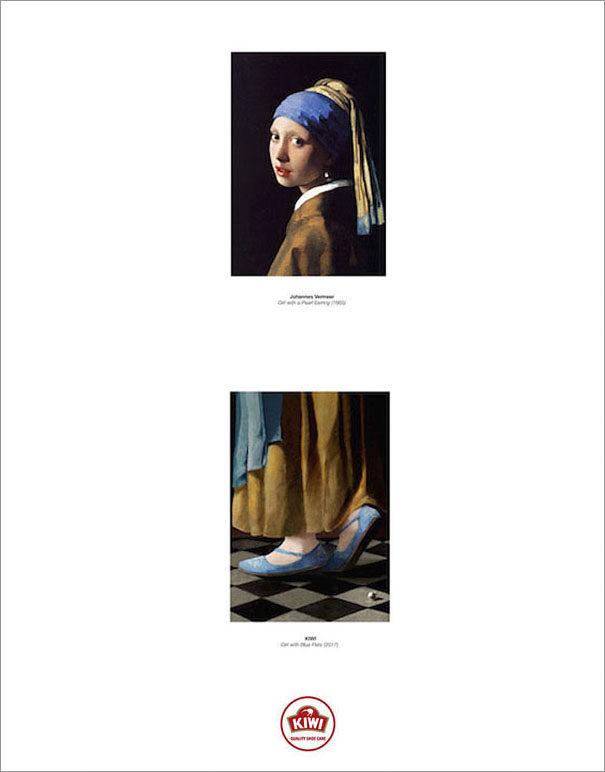 終於能看到名畫裡人物的「下半身」!#4 蒙娜麗莎原來穿這種鞋! (8張)