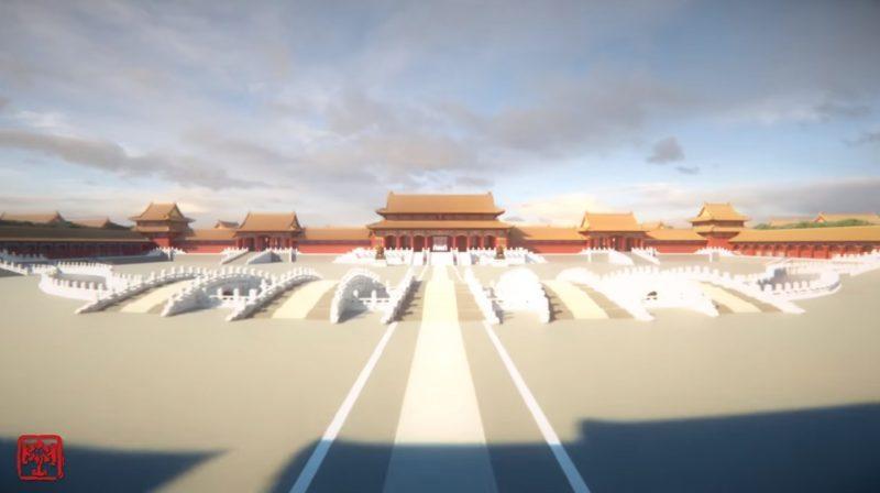 神人用1億方塊在《當個創世神》重現「數位版紫禁城」!花4年打造「1:1精緻內部細節」網友全跪了!(影片)