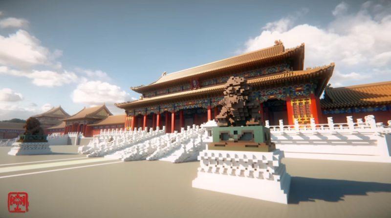 神人用1億方塊重現「數位版紫禁城」花4年造「1:1精緻內部細節」網友全跪