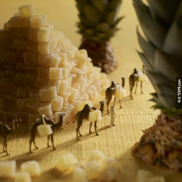 看起來又好玩好吃,根本就是藝術嘛。這個才叫做創意料理!