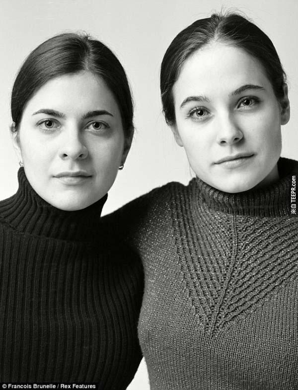 這13個人怎麼可能不是雙胞胎?!更奇怪的是...他們一輩子都沒有見過面!