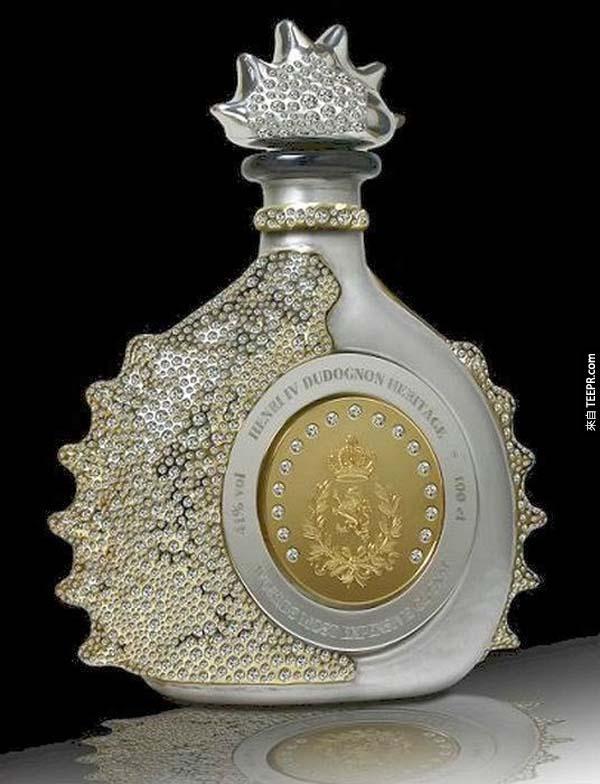 香檳: $6,000萬的 Henri IV Dudognon Heritage Cognac Grande Champagne 香檳