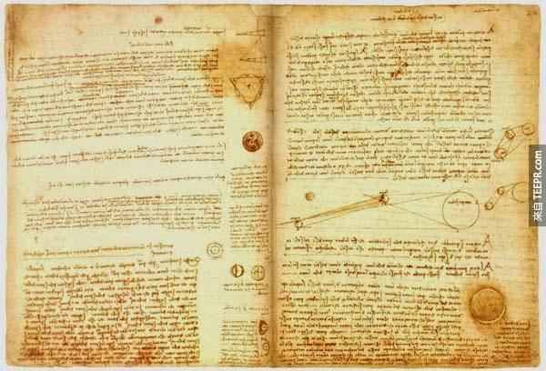 書:一本$9.24億 - 達文西的 Codex Leicester