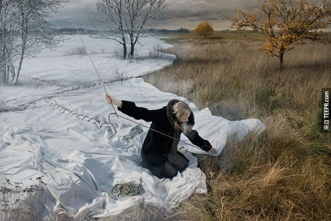 冬天來了,快點把他跟秋天的交界縫起來...