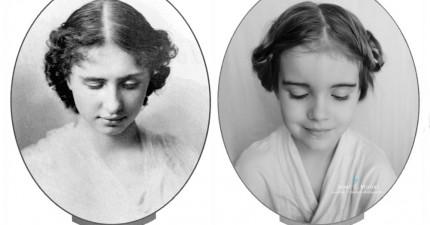 媽媽把女兒打扮成歷史偉大女性。這種教育的方法真的太棒了!