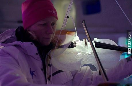 很多人不相信冰做的樂器可以發出很好的聲音,但是只要是聽過的人都會發現原來冰發出的共鳴其實真的很讚!