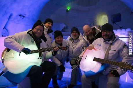 冰吉他其實是所有樂器裡最持久的。有得時候它還可以捱過冬天呢。