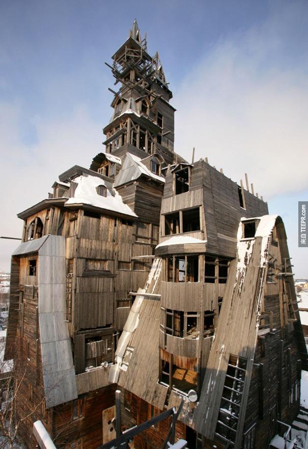 31. 木製 Gagster樓(Archangelsk,俄羅斯)