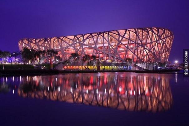 35. 北京國家體育場 - 鳥巢(北京,中國)