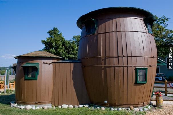 41. 泡菜桶樓(大馬雷,密歇根州)