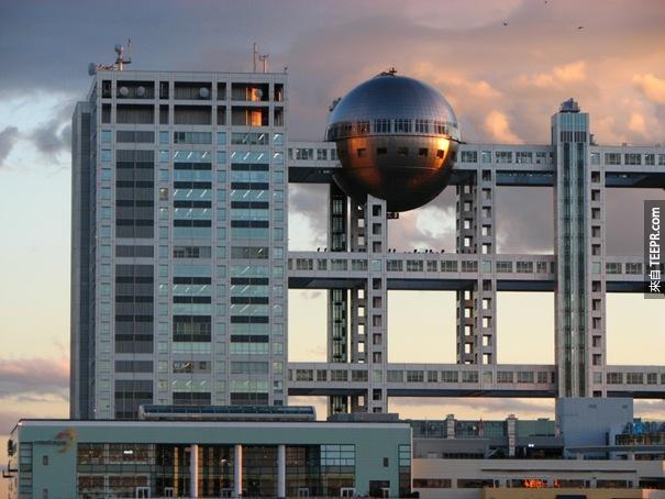 47. 富士電視大樓(日本東京)