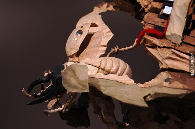你覺得這看起來只是一個普通的木頭對不對?錯了,你一定想不到它到底是什麼!