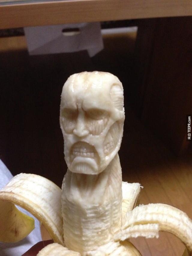 进击的香蕉?!