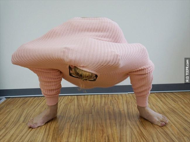 研究指出這是最有效的保暖方法。超爆笑的,我一定要試試看!