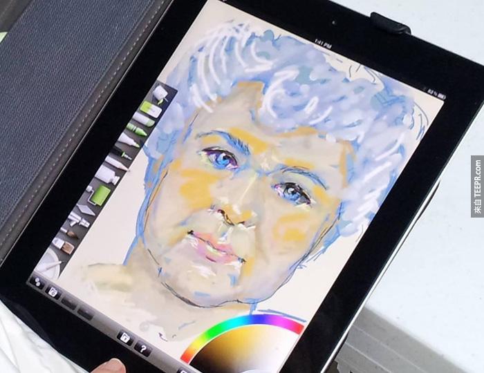 他幫阿嬤買了一台iPad之後,才發現到阿嬤驚人的底細。