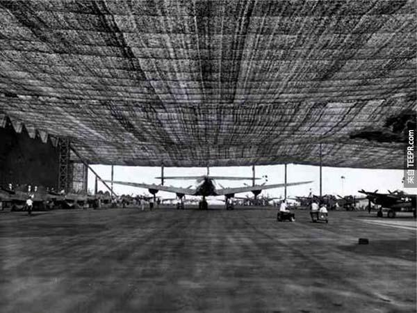 二次世界大戰的時候,美軍居然利用好萊塢科技把這座城市整個隱藏起來。