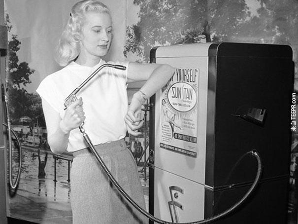 日光浴販賣機 - 1949