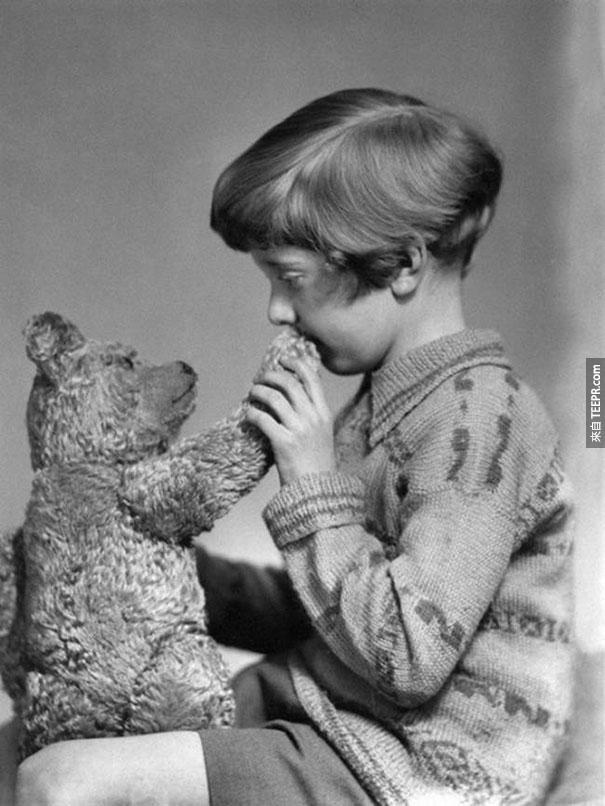 真正的威尼熊跟克里斯托弗·羅賓 - 1927