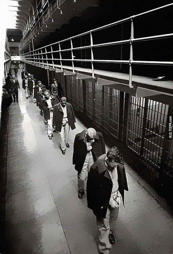 最後一批離開惡魔到的犯人 - 1963