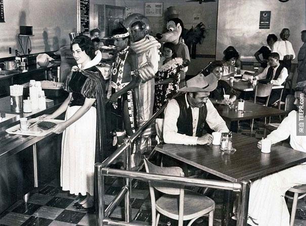 迪斯奈樂園的員工餐廳 - 1961