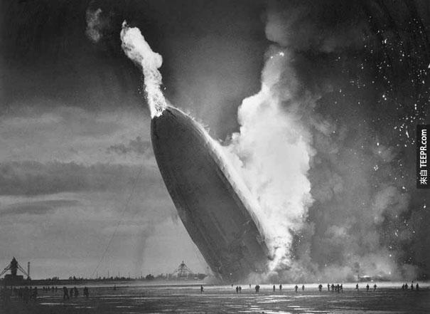 興登堡號飛船災難 - 5月6號, 1937