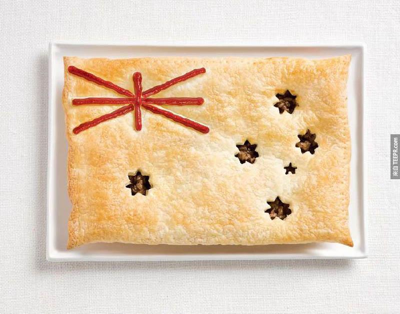澳洲 - 肉餅、醬料