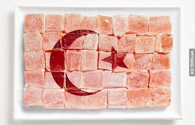 土耳其 - 土耳其軟糖 (Turkish Delight)