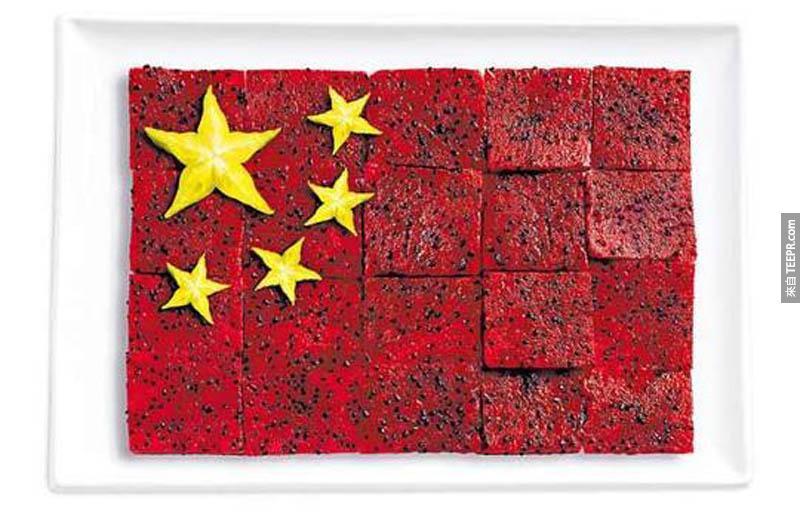 中國 - 火龍果、楊桃