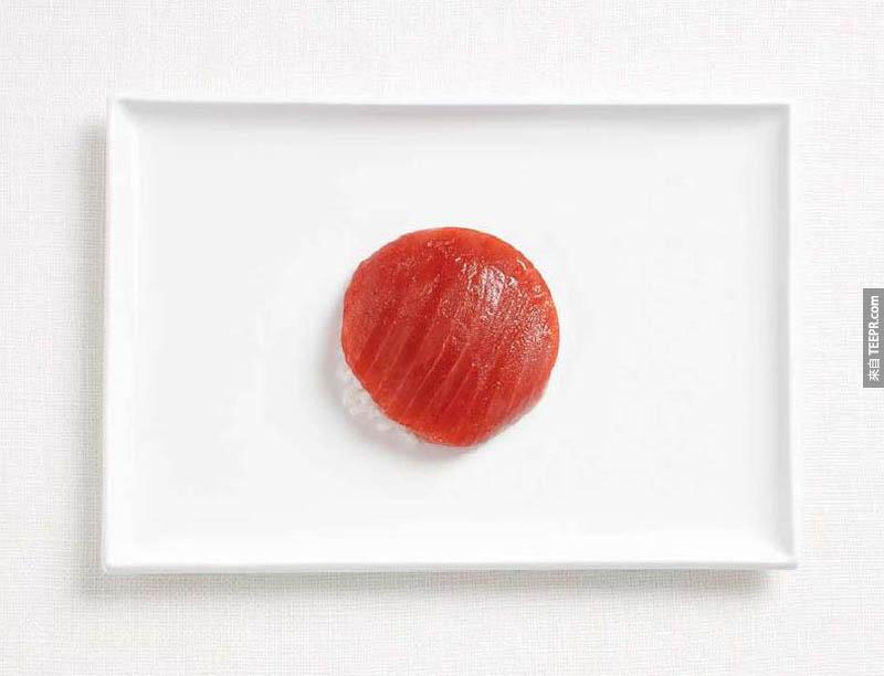 日北 - 鮪魚、飯