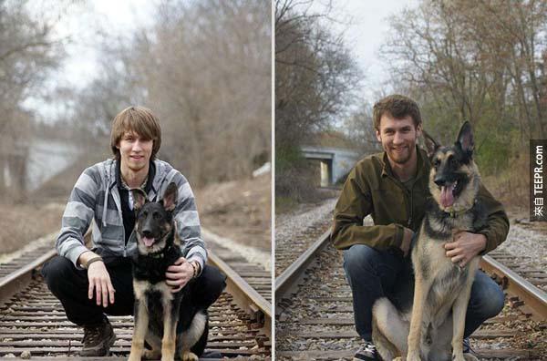 多年後兩位都還是很英俊!(4年後)