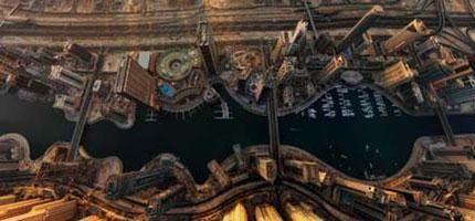 從上空看這些知名的景點真的很不可思議。#6真的讓我大吃一驚!