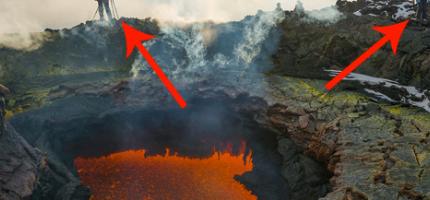 這兩個人找到了一個看起來像是地獄的入口?!你一定要往裡面看...超酷的!