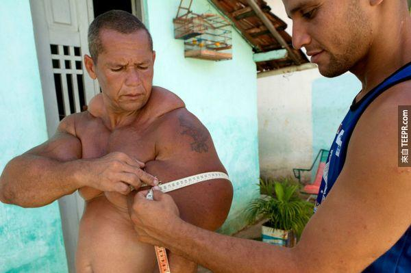 真人版大力士Arlindo de Souza