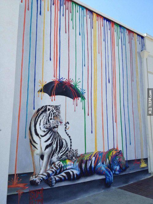 6. 麥克‧桑默斯驚人的藝術。