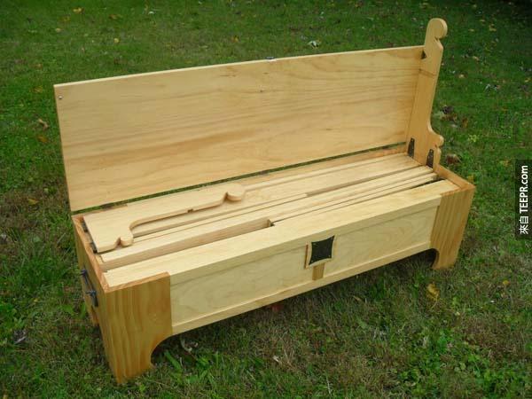 當你把這些木板拿出來並且組裝後,你就會知道這個木箱子真的是一個大騙子!