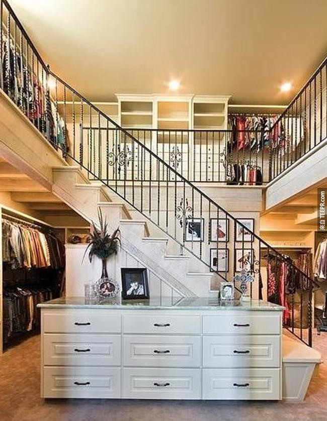 35個有錢人的家裡必須有的奢侈室內設計。每一個看看都過癮!