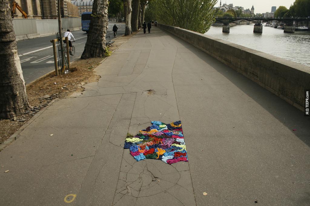 我一開始看的時候還以為只是一些被PS過的街景。但是當我仔細看的時候...這就是我們城市裡需要的!