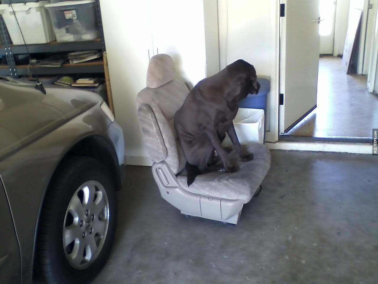 """39. """"我發誓我永遠不會離開這張椅子。老子說到做到!"""""""