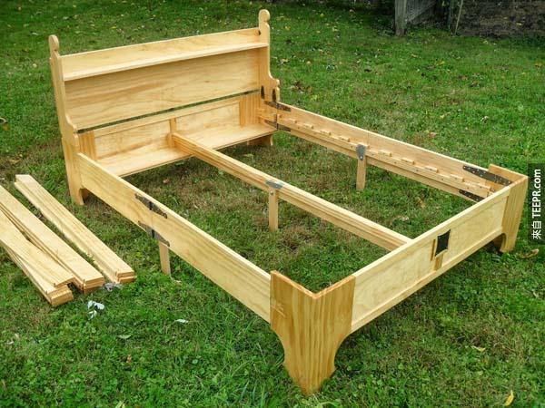 這是一個床!可惡的騙人箱子!