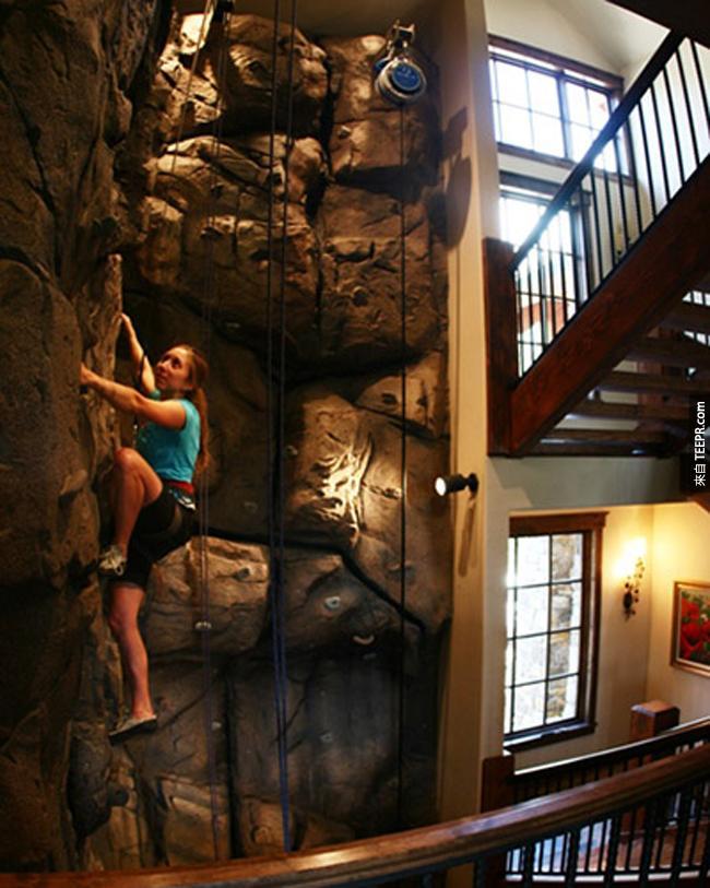 室內攀岩牆